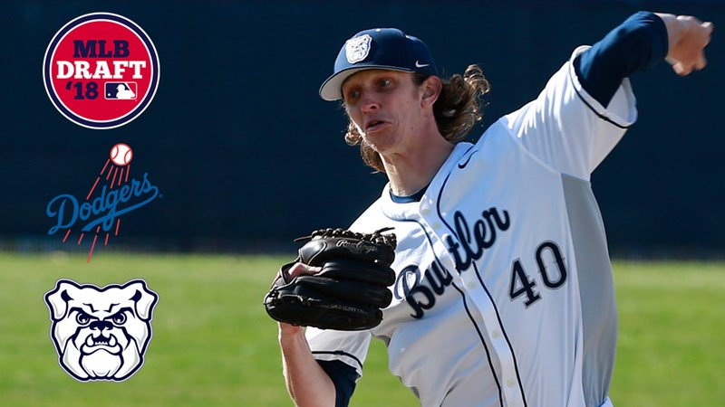 Dodgers Select Mitchell in 27th Round of MLB Draft